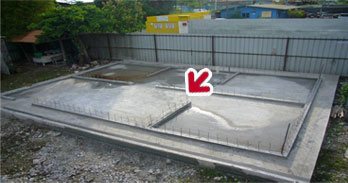 Completed Raft Foundation