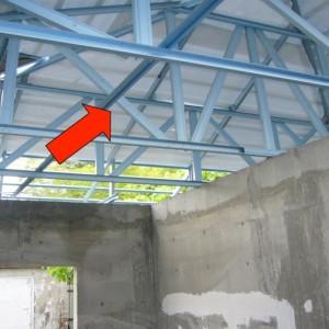 Light Weight Metal Roof Truss